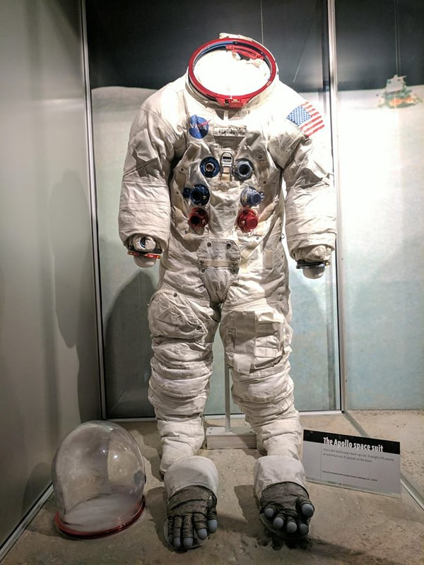 Neil Armstrong Apollo 11 backup suit