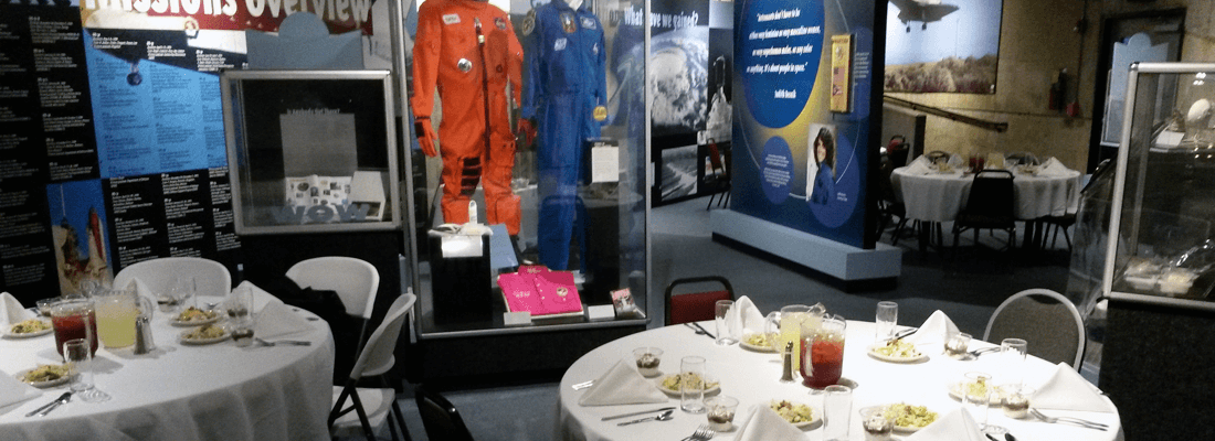 Host an event at Armstrong Air & Space Museum